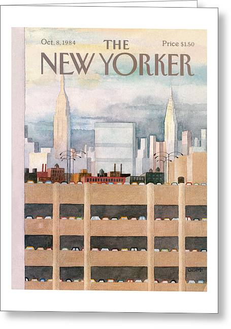 New Yorker October 8th, 1984 Greeting Card