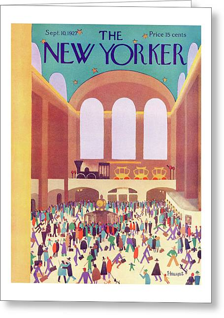 New Yorker September 10th, 1927 Greeting Card