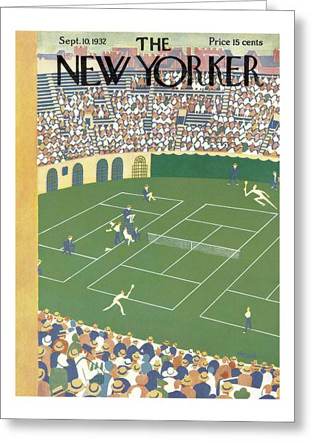 New Yorker September 10th, 1932 Greeting Card