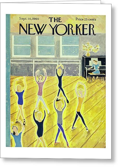 New Yorker September 10th 1960 Greeting Card