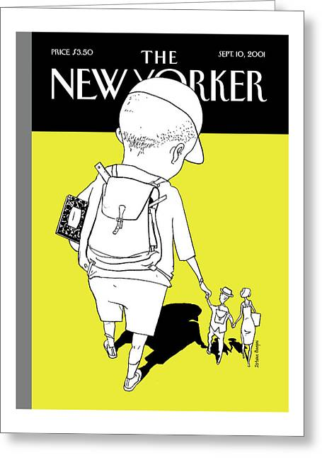 New Yorker September 10th, 2001 Greeting Card