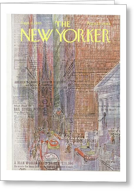 New Yorker September 11th, 1965 Greeting Card