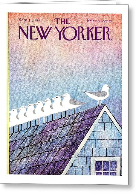 New Yorker September 11th, 1971 Greeting Card
