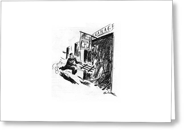 New Yorker September 12th, 1942 Greeting Card by Alan Dunn