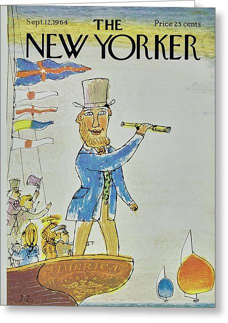 New Yorker September 12th 1964 Greeting Card