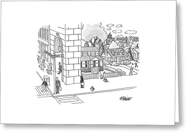 New Yorker September 12th, 1988 Greeting Card by Peter Steiner