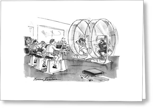 New Yorker September 12th, 1994 Greeting Card by Bernard Schoenbaum