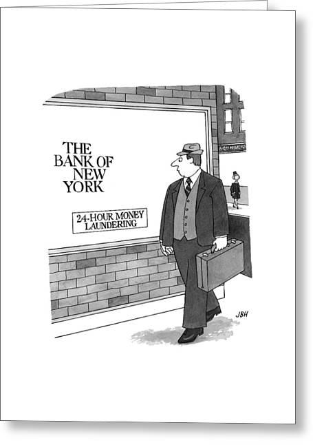 New Yorker September 13th, 1999 Greeting Card by J.B. Handelsman