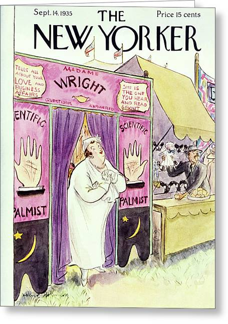 New Yorker September 14 1935 Greeting Card