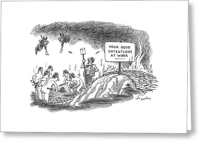 New Yorker September 14th, 1998 Greeting Card by Mike Twohy