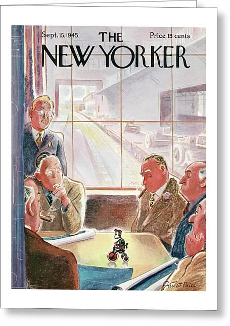 New Yorker September 15, 1945 Greeting Card