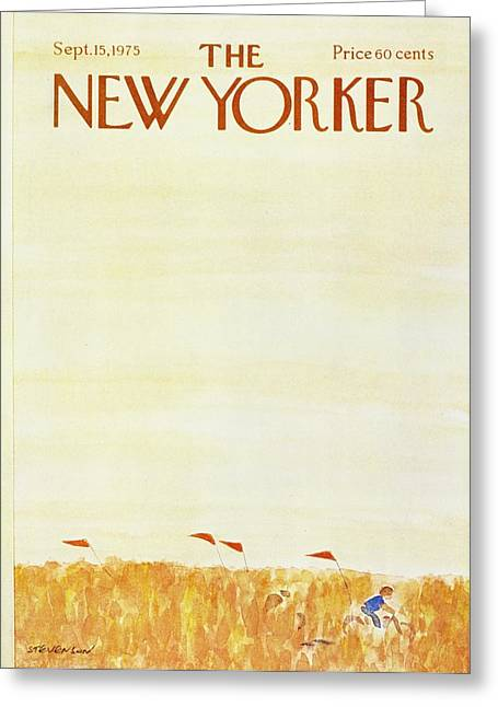 New Yorker September 15th 1975 Greeting Card