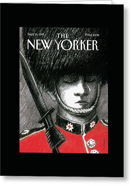 New Yorker September 15th, 1997 Greeting Card by R. Sikoryak