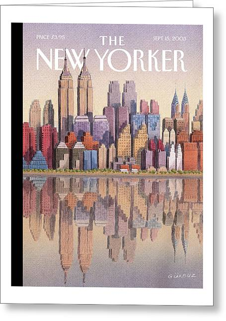 New Yorker September 15th, 2003 Greeting Card