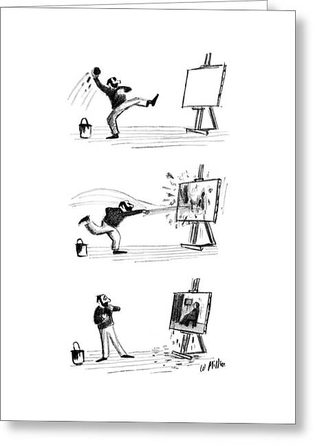 New Yorker September 16th, 1961 Greeting Card