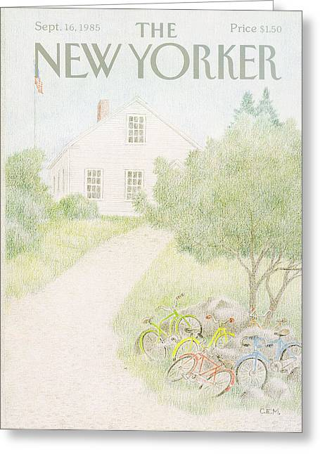 New Yorker September 16th, 1985 Greeting Card