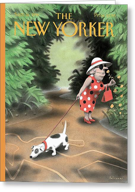 New Yorker September 16th, 1996 Greeting Card