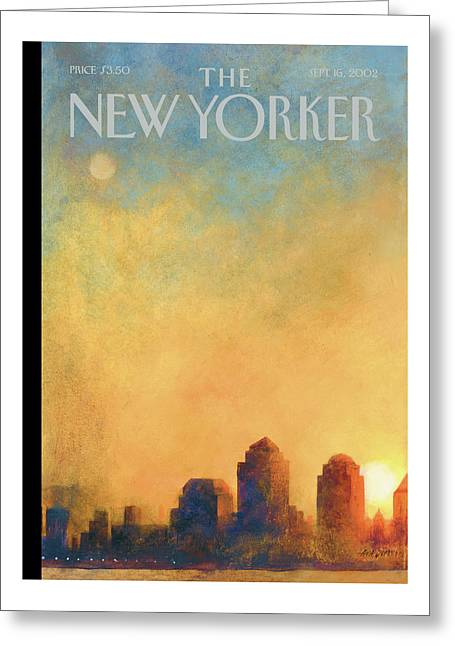 New Yorker September 16th, 2002 Greeting Card