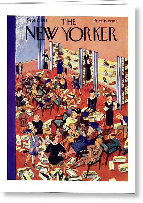 New Yorker September 17 1938 Greeting Card
