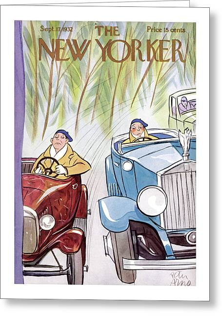 New Yorker September 17th, 1932 Greeting Card