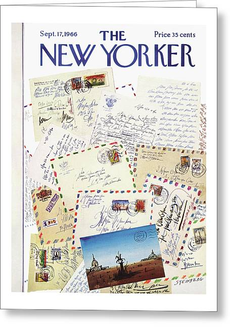 New Yorker September 17th, 1966 Greeting Card