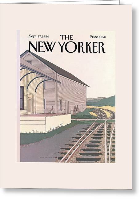 New Yorker September 17th, 1984 Greeting Card by Gretchen Dow Simpson