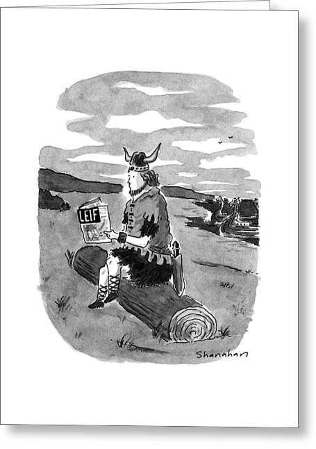 New Yorker September 17th, 1990 Greeting Card
