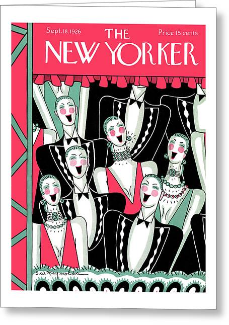 New Yorker September 18th, 1926 Greeting Card