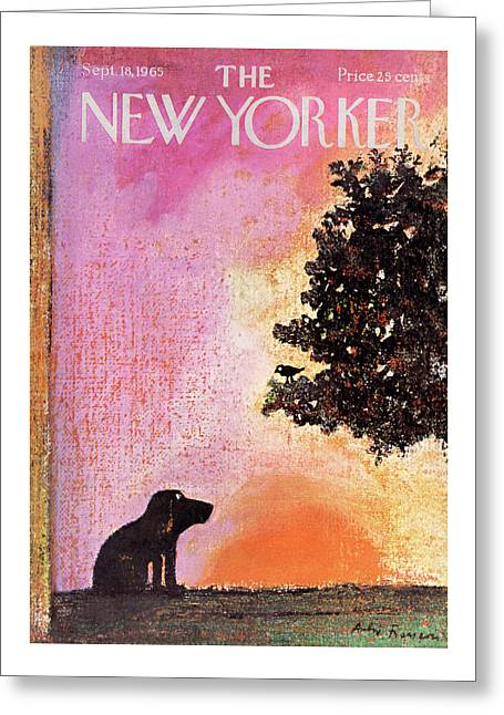 New Yorker September 18th, 1965 Greeting Card