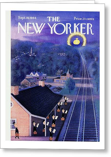 New Yorker September 19th 1964 Greeting Card