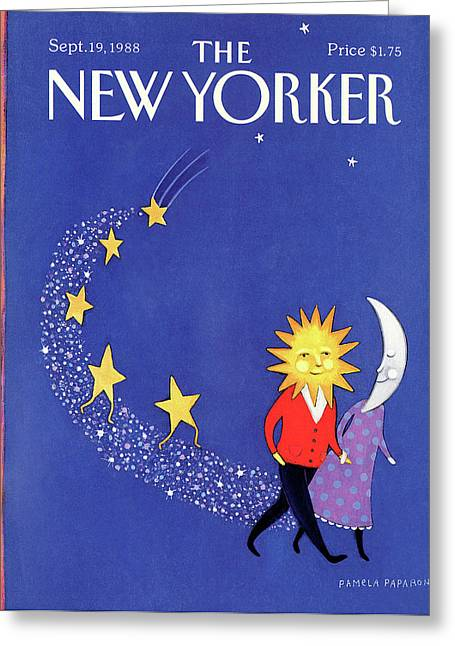 New Yorker September 19th, 1988 Greeting Card by Pamela Paparone