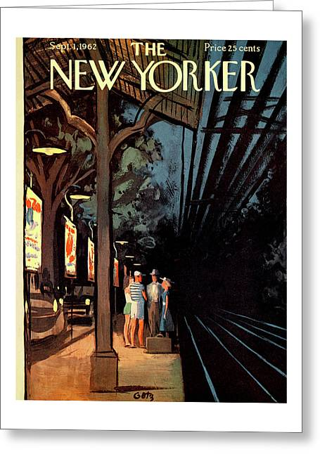 New Yorker September 1st, 1962 Greeting Card