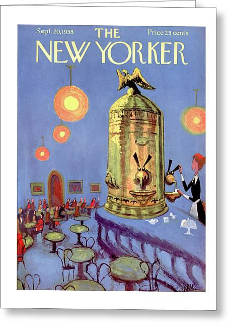 New Yorker September 20th, 1958 Greeting Card
