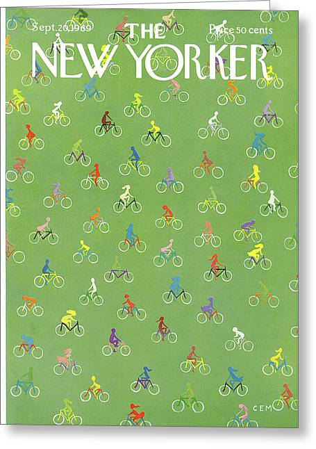 New Yorker September 20th, 1969 Greeting Card