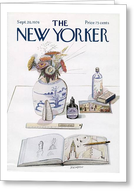 New Yorker September 20th, 1976 Greeting Card