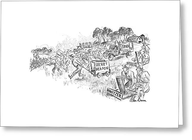 New Yorker September 21st, 1940 Greeting Card by Alan Dunn
