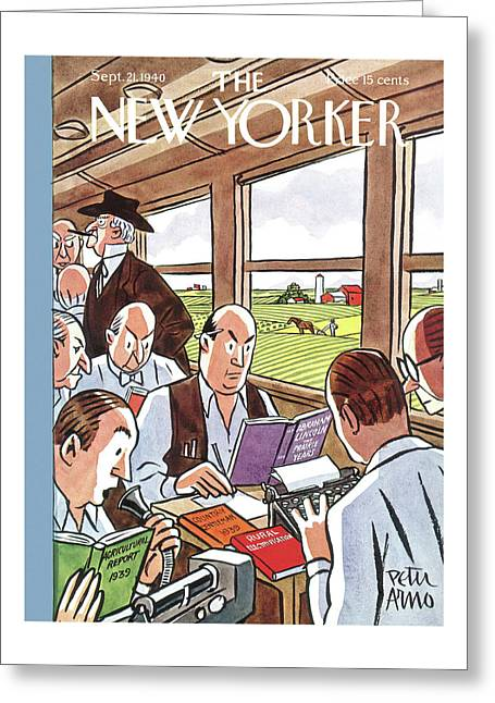 New Yorker September 21st, 1940 Greeting Card