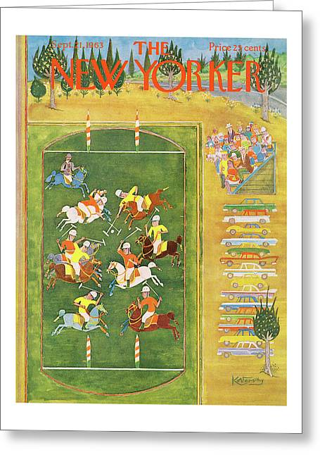 New Yorker September 21st, 1963 Greeting Card