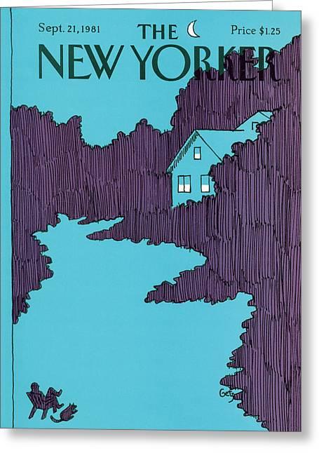 New Yorker September 21st, 1981 Greeting Card by Arthur Getz