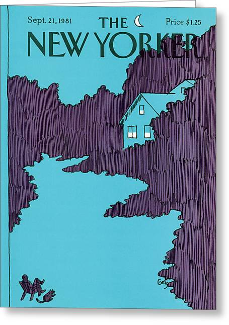 New Yorker September 21st, 1981 Greeting Card