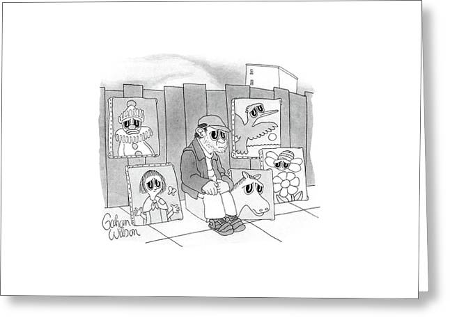 New Yorker September 21st, 1987 Greeting Card by Gahan Wilson