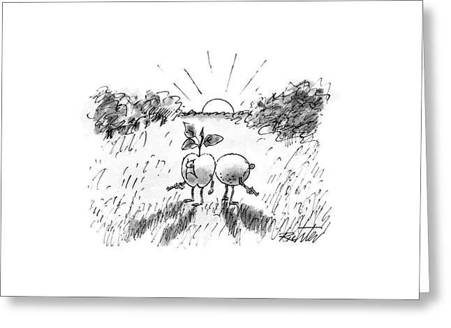 New Yorker September 21st, 1987 Greeting Card by Mischa Richter