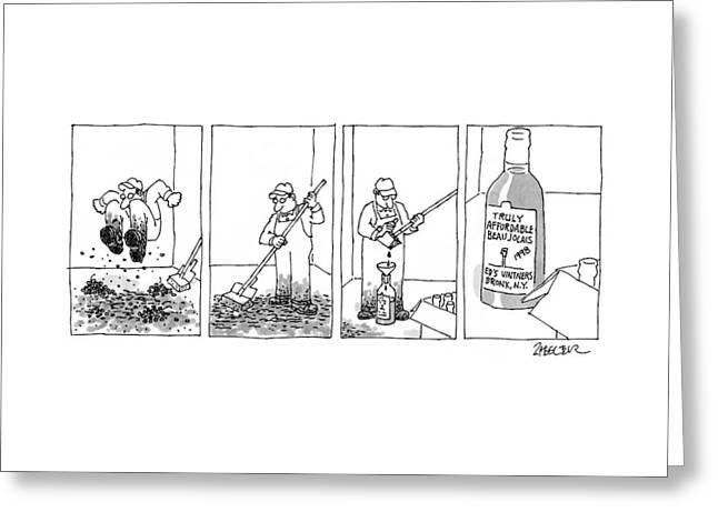 New Yorker September 21st, 1998 Greeting Card