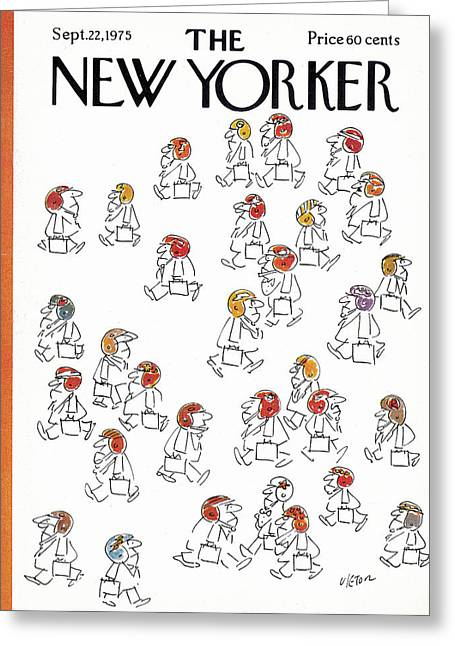New Yorker September 22nd, 1975 Greeting Card