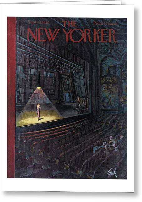 New Yorker September 23rd, 1950 Greeting Card