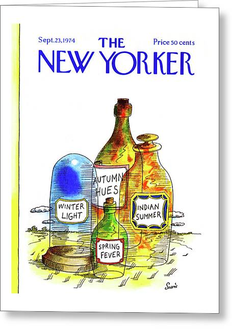 New Yorker September 23rd, 1974 Greeting Card