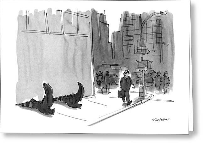 New Yorker September 23rd, 1991 Greeting Card by James Stevenson