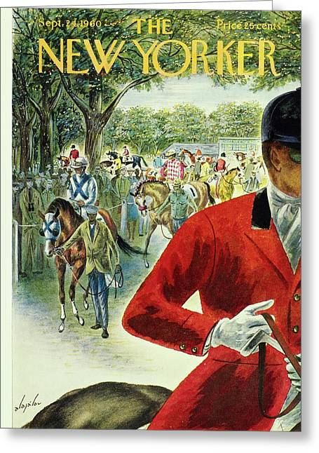 New Yorker September 24th 1960 Greeting Card