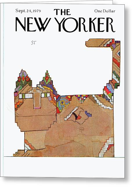 New Yorker September 24th, 1979 Greeting Card