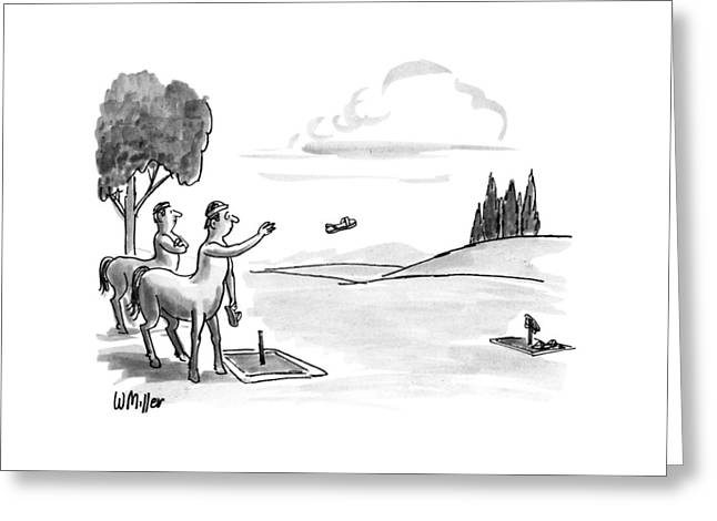 New Yorker September 24th, 1990 Greeting Card